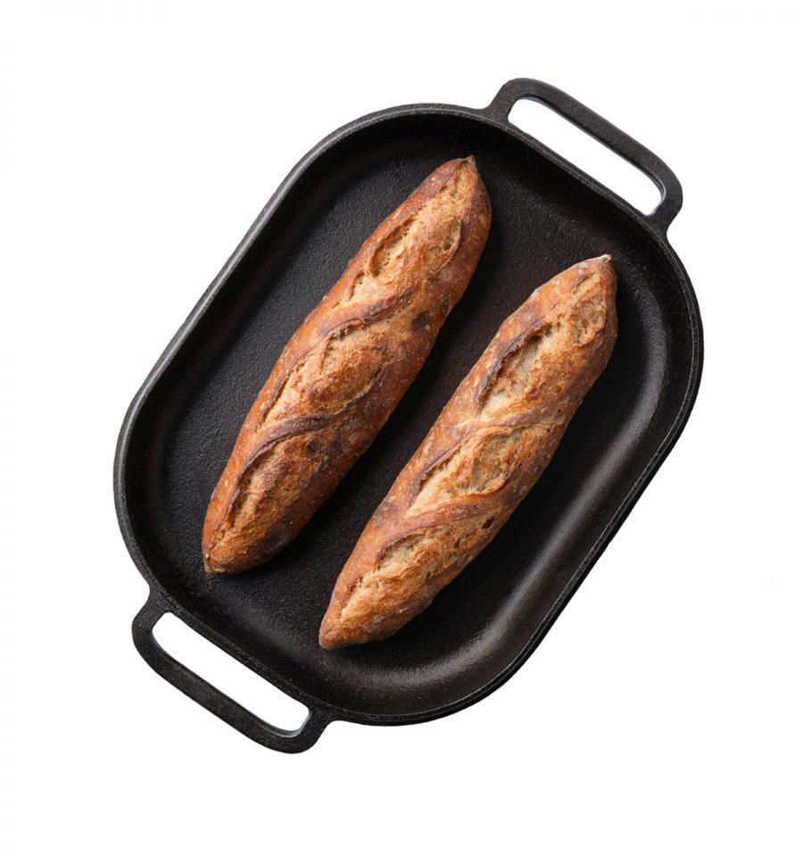 Challenger bread pan open