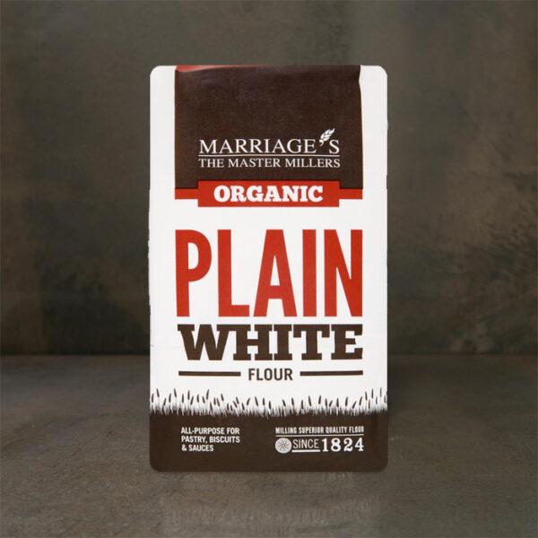 Marriage's Plain White Flour