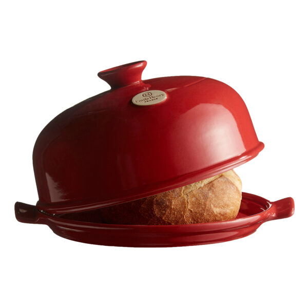 Emile Henry Bread Cloche - Red